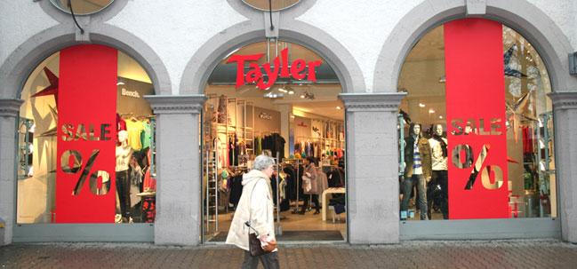 Folienbeschriftung Ihrer Schaufenster - BlackPearls in Erfurt