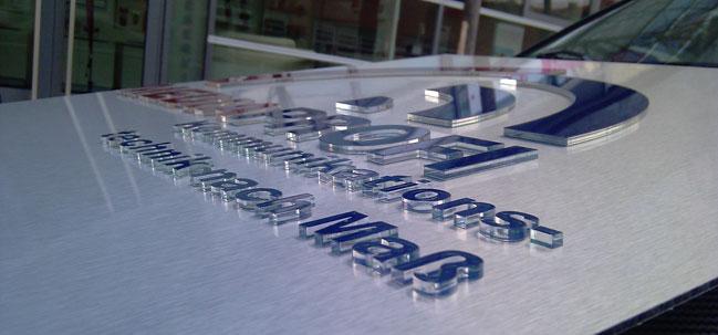 3D Werbeschilder in Erfurt