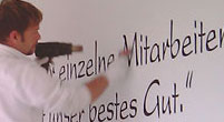 Wandtattoos nach individuellen Wünschen in Erfurt und Umgebung